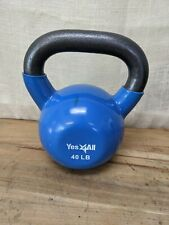 Excellent Condition Yes 4All 40lb Coated Rubber Kettlebell
