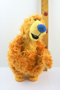 """Mattel 1999 Bear In The Big Blue House Dances and Sings Cha Cha Cha 13.5"""" TESTED"""