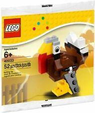 LEGO Thanksgiving Holiday Turkey #40033 POLYBAG (2012) - NEW/ FACTORY SEALED