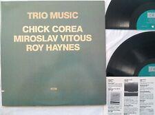 Chick Corea TRIO MUSIC Miroslav Vitous Roy Haynes 1982 2Xlp ECM 2-1232 gatefold