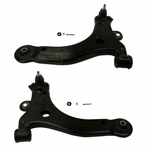For Chevy Pontiac Pair Set of 2 Front Lower Control Arms & Ball Joints
