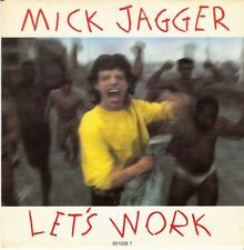 45 T SP MICK JAGGER *LET'S WORK* / 1