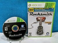 Rocksmith (Microsoft Xbox 360, 2011) Tested & Working