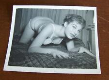 "Vintage Sexy Pin Up Original 4"" X 5"" Photograph Photo Risque Beautiful Classic 5"