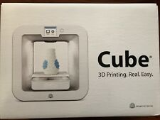 NEW 3D Cube Personal 3D Wireless Printer 3rd Generation Grey Model 391100