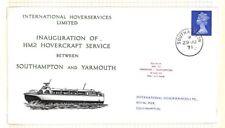BC262 1971 GB Southampton Hovercraft Service Cover PTS