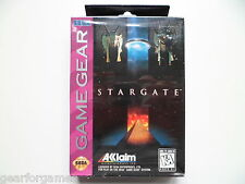 SEGA GAME GEAR STARGATE BOXED SEALED NEW REGION FREE