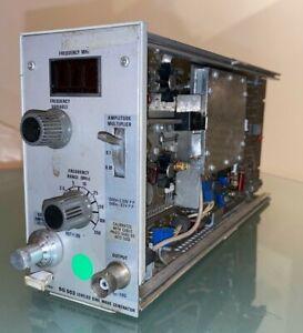 Tektronix SG 503 Leveled Sine Wave Generator module ex MOD test equipment