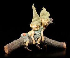 Pixie Kobold Figuren schlafend - Nichts geht mehr - Troll Zwerg Gnom