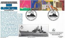 GB :1999 Christians Tale set on Royal Navy illustrated  FDC- GLOUCESTER-signed