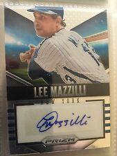 2014 Panini Prizm Signature #22 Lee Mazzilli New York Mets Auto CARTE DE BASEBALL