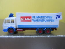 Wiking, H0,  Mercedes SK Koffer, STULZ Klimatechnik Wärmepumpen, (78)