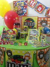 m & m  happy birthday party pack supplies Free shipping!!!