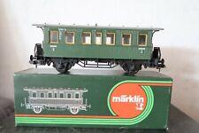 Märklin Spur 1 5801 Personenwagen Bi 2 Kl 092 660  (AQ67-35R1/14)