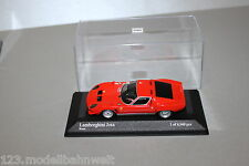 Minichamps Lamborghini Jota Rosso limitiert 1:43 in Vitrine