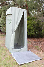 RiverRatz Quality Camping Toilet and Shower tent, no guy ropes