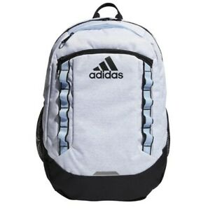 adidas Unisex Excel III Backpack One Size Jersey White/ Glow Blue ...