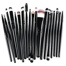20tlg Professionelle Kosmetik Pinsel-Set Make up Brush Kit Eyeliner Lidschatten