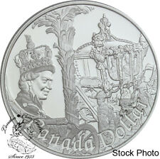 Canada 2002 $1 50th Queen Elizabeth II Accession Proof Dollar Capsule Only