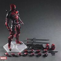 Play Arts Kai PA Deadpool Variant Action Figure Toy Doll Statue Display