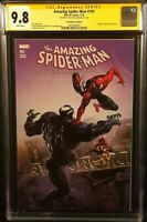 MARVEL Comics AMAZING SPIDER-MAN #797 CGC SS 9.8 Clayton Crain VENOM RED GOBLIN