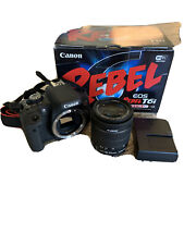 canon eos rebel t6i with EF-S 18-55 IS STM Kit