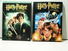 Harry Potter And The Chamber of Secrets &:The Sorcerer's Stone DVD w/sleeves 2pk