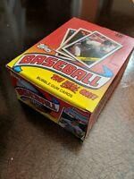 1988 Topps Baseball Trading Cards Wax Box