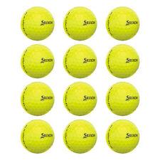 New Srixon Z-Star XV 4 Tour Yellow LOOSE #7 Golf Balls - 3 Dozen