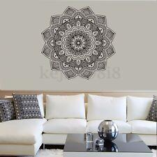 Indian Mandala Bedroom Wall Decal Flower Vinyl Art Removable Sticker Home Decor
