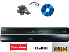 Toshiba DVR19DT DVD RECORDER & VCR VHS VIDEO RECORDER COMBI, FREEVIEW, HDMI