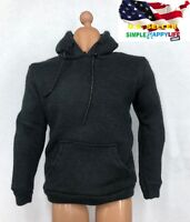 "1/6 Men Pullover black Hoodie for 12"" figure hot toys Phicen worldbox ❶USA❶"