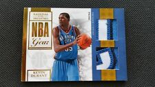 KEVIN DURANT 2009-10 PANINI PLAYOFF NATIONAL TREASURES PATCH NBA GEAR DUAL! SP!
