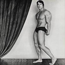 1976 Vintage ARNOLD SCHWARZENEGGER Bodybuilder Muscle Photo ROBERT MAPPLETHORPE