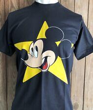 NWT Mickey Mouse Men's XL Tshirt Vintage 80's Deadstock Black Disney BRAND NEW