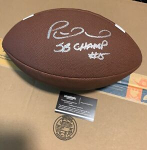 Patrick Mahomes signed autographed football with coa