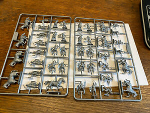English Crusader Knights plastic 1/72