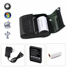 Bluetooth Wireless Photo Mobile Thermal Receipt Printer For Android&Windows&iOS