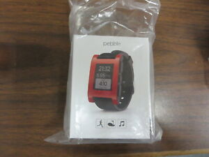 Pebble Smartwatch 301RD Activity Sleep Tracker+Call/Text/Email - For part only