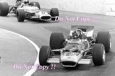 Graham Hill Gold Leaf Team Lotus 49B Winner Monaco Grand Prix 1969 Photograph 3