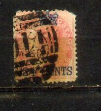 1867Malaysia Malaya Straits Settlements Stamps of India 24c On8a CVRm 320 Damage