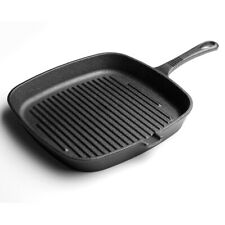 Griddle Frying Pan Grill Cast Iron Non Stick Skillet Cooking Fry Square Steak