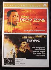 Drop Zone / Narc - Wesley Snipes / Ray Liotta - DVD - Region 4 - 2 Discs