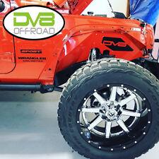 DV8 07 - 17 Jeep Wrangler JK Front & Rear Aluminum Inner Fenders