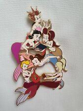 Disney Fantasy Pin The Little Mermaid Ariel & Her Sister's Jumbo LE 45 Pin
