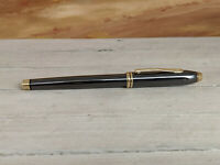 CROSS Townsend Gold Trim Titanium Rollerball Pen, EXCELLENT!