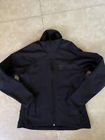 Earth Sea Sky New Zealand Women Soft Shell Jacket Athletic Outerwear Black M / L