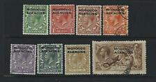 Great Britain Offices Abroad-Morocco 209/17 M&Used pmob Cat $77