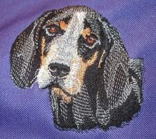 Embroidered Long-Sleeved T-shirt - Bluetick Coonhound I1171 Sizes S - Xxl