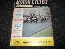 VINTAGE MOTOR CYCLIST ILLUSTRATED MAGAZINE - March 1969